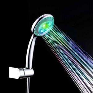 Wasserfall Dusche 230mm 7-farbig