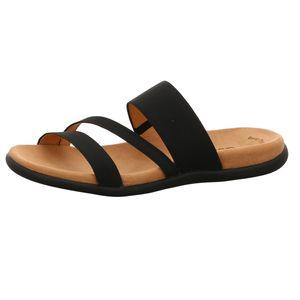 Gabor Damen Sandale Schwarz Schuhe, Größe:43
