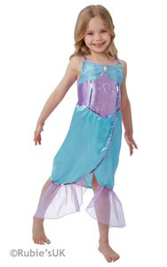 Rubies - Mädchen Meerjungfrauen-Kostüm - Meerjungfrau - L