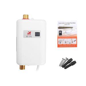 3800W 220V Hause Elektrische Heizgerät Schnell Beheizt Thermostat Mini Wärmepumpe Durchlauferhitzer für Küche Bad Wasserhahn - Eu Plug