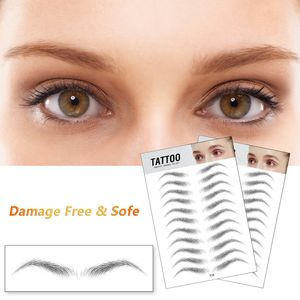 4D Hair-Like Authentic Eyebrows Grooming Shaping Brow Shaper Makeup Brow Sticker