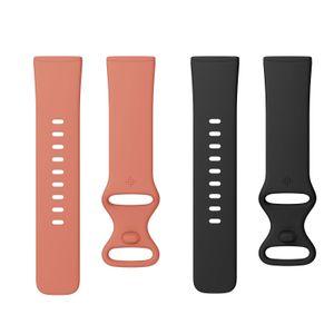 Fitbit Versa 3/ Sense Infinitiy Band S Smartwatch, Farbe:Pink