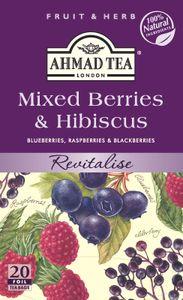 Ahmad Tea- Mixed Berries & Hibiscus 40g, 20 Beutel