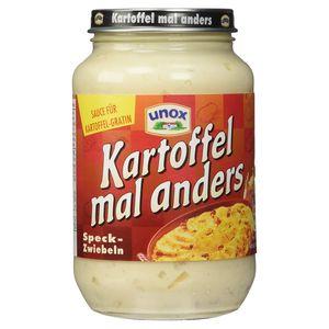 Unox Kartoffel mal anders Speck-Zwiebel für köstliche Aufläufe 400 ml