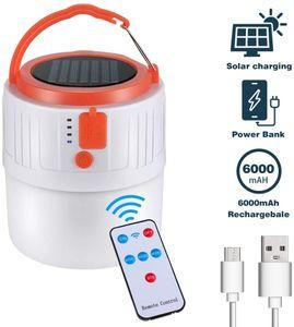Profi LED Campinglampe Solar Wiederaufladbar USB Camping Laterne Gartenlaterne Taschenlamp Solar Licht Tragbare Zeltlampe wasserdicht
