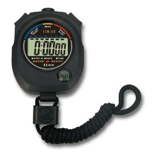 1Pc Digital Handheld Stoppuhr Sekunden Stoppt den Alarmz?hler-Timer der Uhr