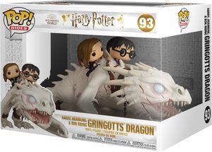 Harry Potter - Gringotts Dragon Harry, Hermion, & Ron Riding 93 - Funko Pop! - Vinyl Figur