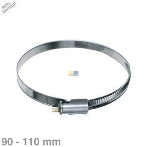 Schlauchschelle 90-110mmØ 9mm Bandbreite