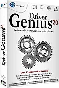 Driver Genius 20, 1 DVD-ROM