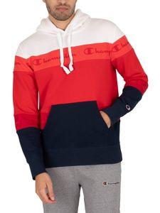 Champion Herren Komfort Pullover Hoodie, Mehrfarbig XL