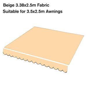 2.88x2.5m Markisenstoff Markise Ersatztuch Sonnenschutz Markisentuch Garten Sonnensegel