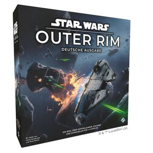 Fantasy Flight Games Star Wars: Outer Rim, Strategie, 180 min, Erwachsene & Kinder, Junge/Mädchen, 14 Jahr(e), Star Wars: Outer Rim