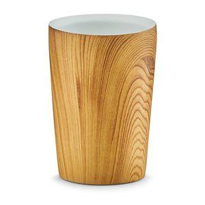 """Zeller Zahnputzbecher """"Wood"""", Polyresin - Ø7,1x9,7; 18372"""