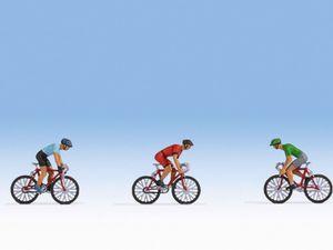 NOCH Rennradfahrer, Figuren, NOCH, Mehrfarbig, HO (1:87), Junge/Mädchen