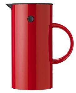 STELTON Kaffeebereiter Kaffeezubereiter rot 8 Tassen 813