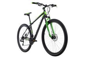 Mountainbike Hardtail 29'' Xtinct schwarz-grün RH 56 cm KS Cycling