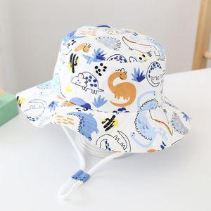 Sonnenhut Fischerhut Strandhut für Baby Kleinkinder Unisex Sommerhut UV Schutz UPF
