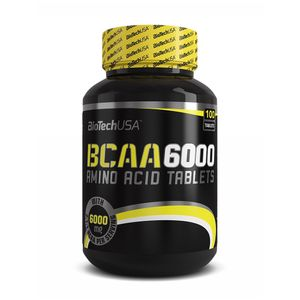 BioTech USA BCAA 6000 Aminosäuren, 100 Tabletten