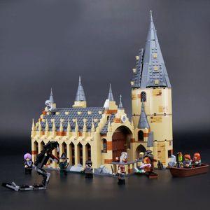 Harry Potter - Schloss Hogwarts【Großes Bausteinspielzeug】,926 Teilen,50*39.5*8.5cm