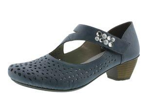 Rieker 41767-13 Schuhe Sandalen Damen Pumps , Größe:37 EU, Farbe:Blau