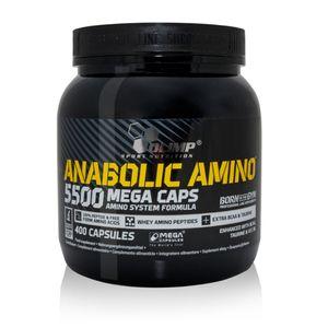 Olimp Anabolic Amino 5500 Mega Caps, 400 Kapseln Dose