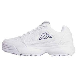 Kappa Damen Sneaker Sneaker Low Textil weiß 40