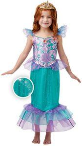 Disney Kinder Kostüm Meerjungfrau Nixe Arielle Karneval 3 bis 4 J.