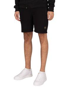 Cruyff Herren Bassa Sweat Shorts, Schwarz S