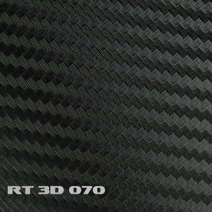 (5,91€/m²) Rapid Teck® 3D Carbon Folie Schwarz Autofolie 152 cm Breite Laufmeterware selbstklebende Folie mit Luftkanälen Auto Folie Carbonfolie