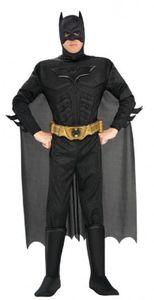 R880671-52-54 schwarz Herren Batman Fledermaus Kostüm Gr.52-54