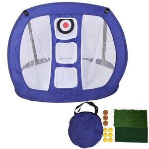 Praxis Golf Übungsnetz netz Puttingmatte Abschlagmatte tees Outdoor Training Indoor/Outdoor