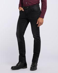 Mustang Herren Vegas Jeans, W31 -to- W36 / Used-Optik / schwarz, Größe*:W33 L30
