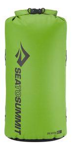 Sea to Summit Big River Drybag 65L, grün, Volumen 65 Liter,, 420D Ripstop Nylon, TPU Laminat, Hypalon Schlaufen