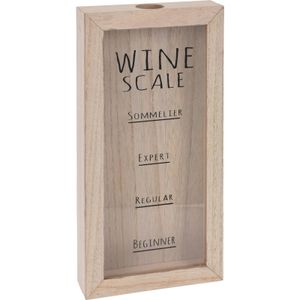 ORION Weinkorkenhalter / Weinkorken-Sammelbox zum Aufhängen an der Wand