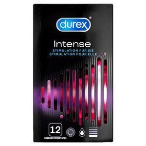 Durex Intense Orgasmic Kondome Präservative Verhütung Empfängnisschutz 12 Stück