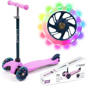 Kinderroller Tretroller Dreirad-Balance-Roller Kidwell UNO FIOLET