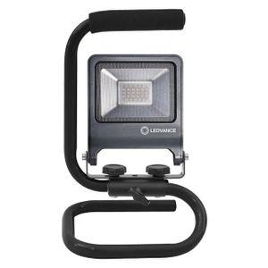LEDVANCE WORKLIGHT 20 W LED Mobiler Strahler Kaltweiß 28 cm Aluminium  /  Stahl Dunkelgrau