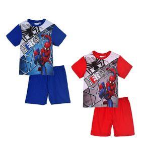 Spiderman Shorty Pyjama, rot, Gr. 98-128 Größe - 8 Jahre