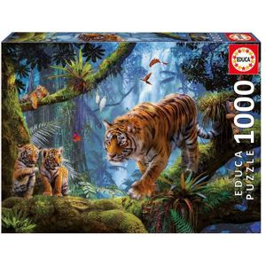 1000 Tiger auf TREE