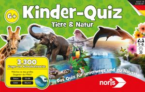 Noris Spiele Kinderquiz Tiere & Natur; 606011629