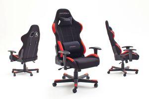MCA Furniture Chefsessel Racer 1 Schwarz; 74 cmx52 cmx123-132 cm, 62501SR4