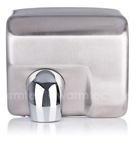 Elektro Handtrockner Händetrockner 2500W Edelstahl Matt Wandmontage Händefön Toilette
