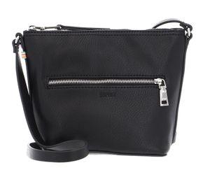 Esprit Debby Shoulder Bag Umhängetasche Crossbag 050EA1O312, Farbe:Black