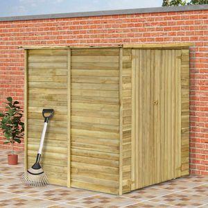 Holz Gerätehaus ,Geräteschuppen ,Gartenhaus ,Garten-Lagerschuppen 157 x 159 x 178 cm Kiefernholz Imprägniert