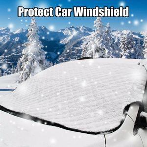 Auto Frontscheibenabdeckung Windschutzscheibe Sonnen Schutz Snow Frost Winter