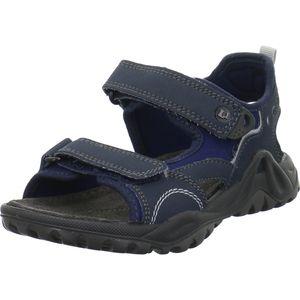 Lurchi Manni Jungen Sandale in Blau, Größe 37