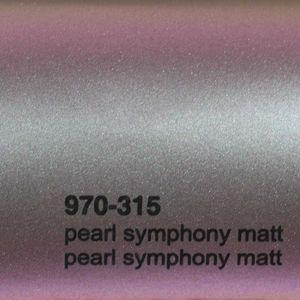 (17,1€/m²) Oracal 970RA Autofolie 315M Pearl Symphony Matt Folie 152 cm Breite Laufmeterware gegossene Auto Folie selbstklebend