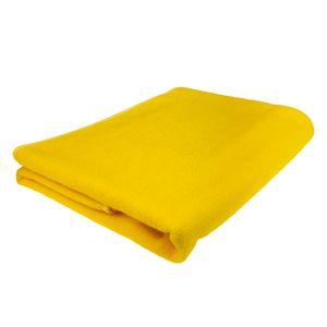 Mikrofaser Duschtuch - Gelb - 70 x 140 cm (BxL) - saugstark und schnelltrocknend - sehr leicht - ideal als Reisehandtuch, Sporthandtuch oder Badetuch - Menge wählbar, Stückzahl:1 Stück