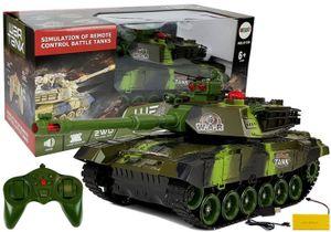 RC Car Panzer Camo ferngesteuert 1:18 RTR Komplettset Kampfpanzer