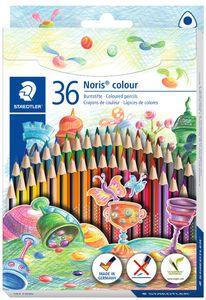 STAEDTLER Dreikant-Buntstift Noris colour 36er Kartonetui